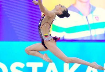 Грациозно и красиво: в Национальной арене гимнастики продолжаются соревнования Международного турнира AGF Junior Trophy