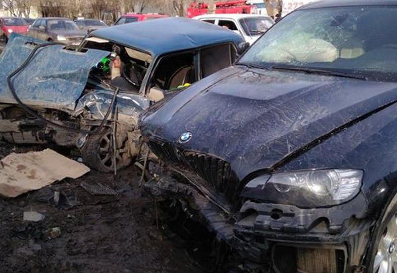 """Страшная авария в Габале <span class=""""color_red"""">- есть погибший, много раненых</span>"""