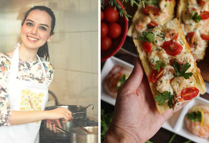 Горячие бутерброды с креветками - Рецепт от Или Мамедовой