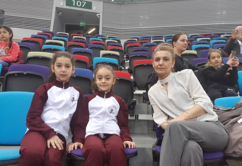 Зрительница: Турнир AGF Junior Trophy в Баку проходит ярко и зрелищно