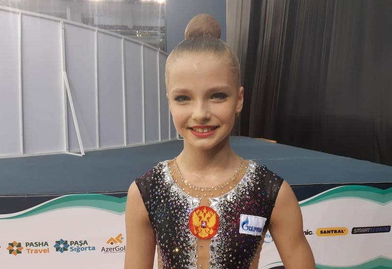 """В Национальной арене гимнастики в Баку очень уютная атмосфера <span class=""""color_red"""">– российская гимнастка</span>"""