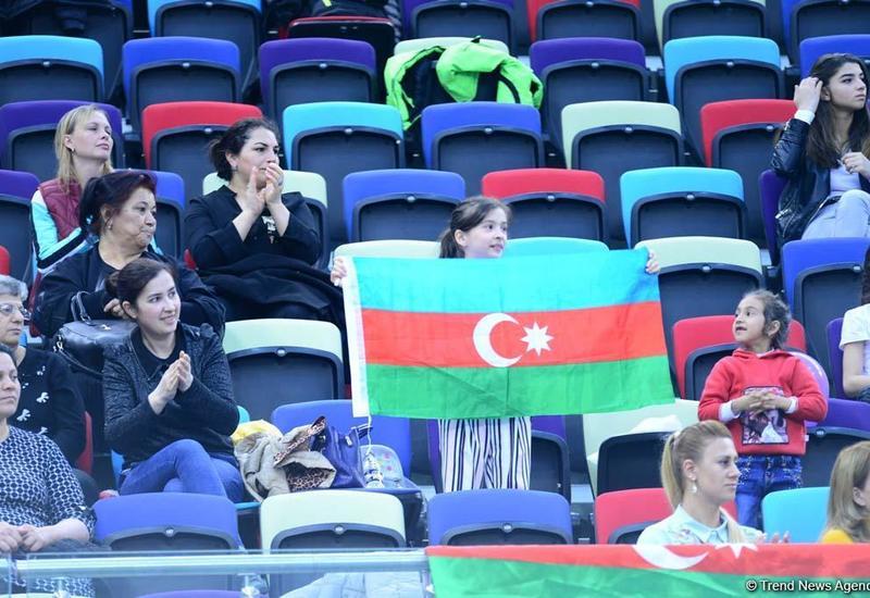 Нармина Самедова вышла в финал AGF Junior Trophy в упражнениях с булавами