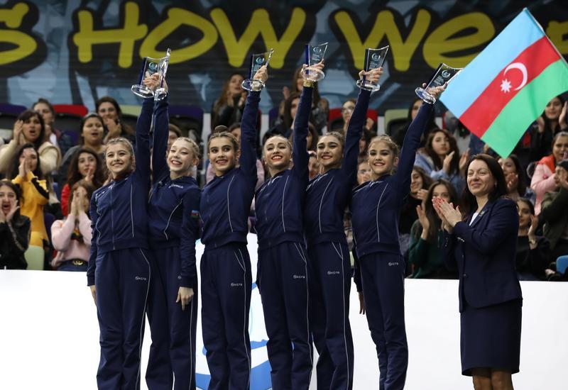 У нас все еще впереди – члены групповой команды Азербайджана, завоевавшей «золото» AGF Junior Trophy