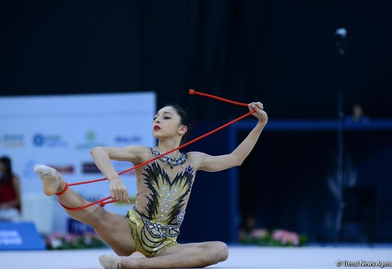 Азербайджанская гимнастка Арзу Джалилова завоевала «бронзу» Международного турнира AGF Junior Trophy в упражнениях со скакалкой