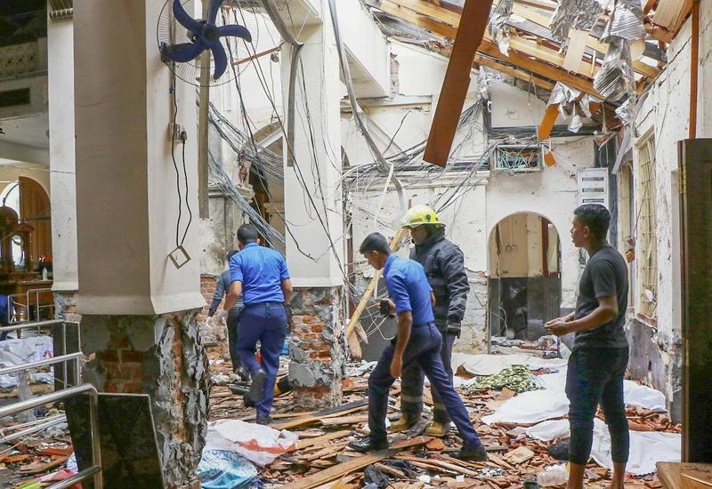 """Кровавая пасха на Шри-Ланке, 8 взрывов - 215 погибших, более 450 раненых <span class=""""color_red"""">- ОБНОВЛЕНО - ФОТО - ВИДЕО</span>"""
