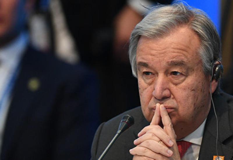 Генсек ООН выразил соболезнования семьям жертв терактов на Шри-Ланке