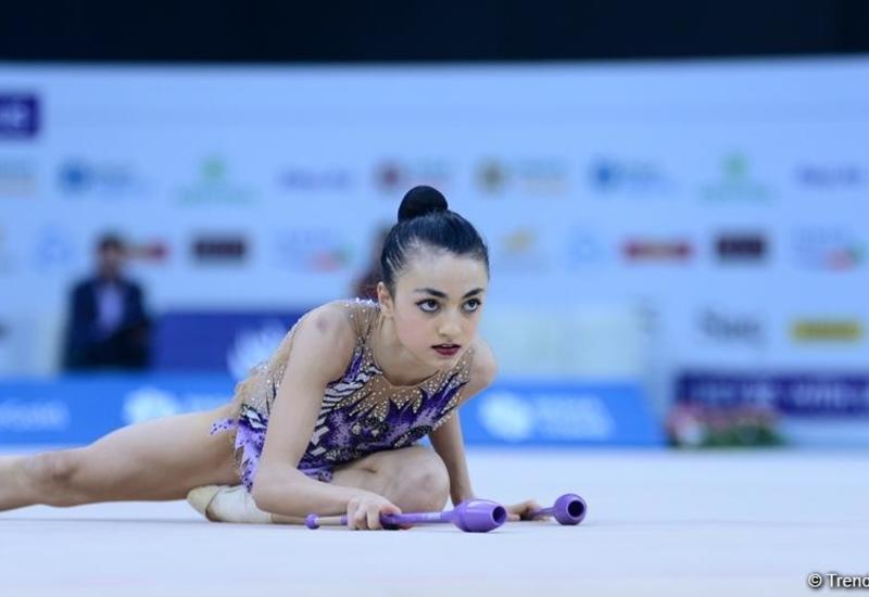 Нармина Самедова завоевала «серебро» Международного турнира AGF Junior Trophy в упражнениях с лентой