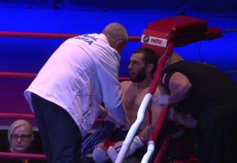 Азербайджанский боксер досрочно победил армянина
