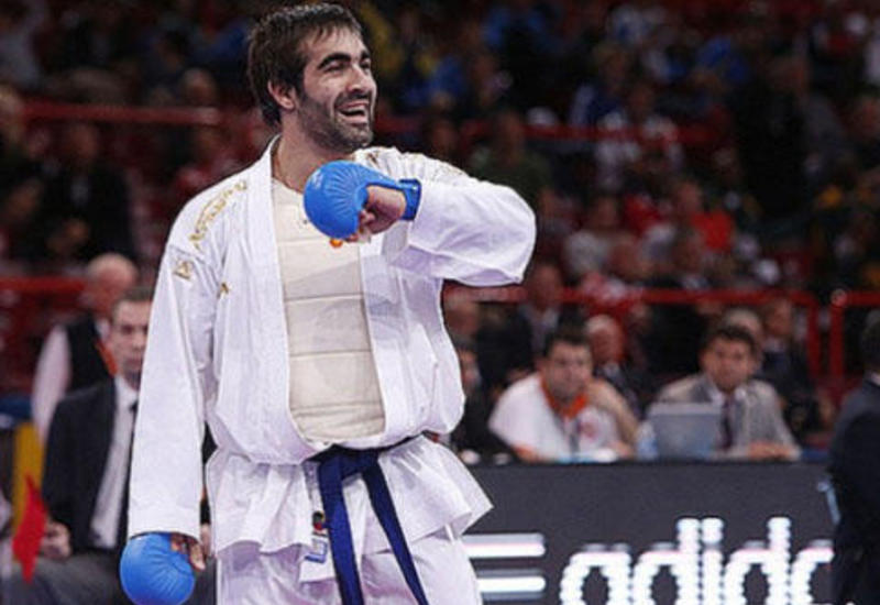 Рафаэль Агаев завоевал бронзовую медаль на турнире Karate 1