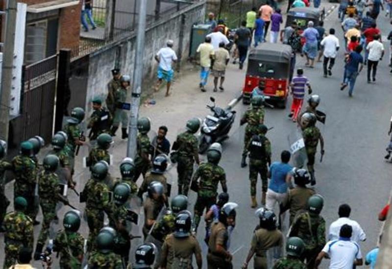 "Опубликовано видео с места одного из взрывов на Шри-Ланке <span class=""color_red"">- ВИДЕО</span>"