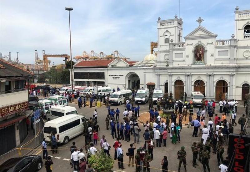 Седьмой взрыв прогремел рядом со столицей Шри-Ланки