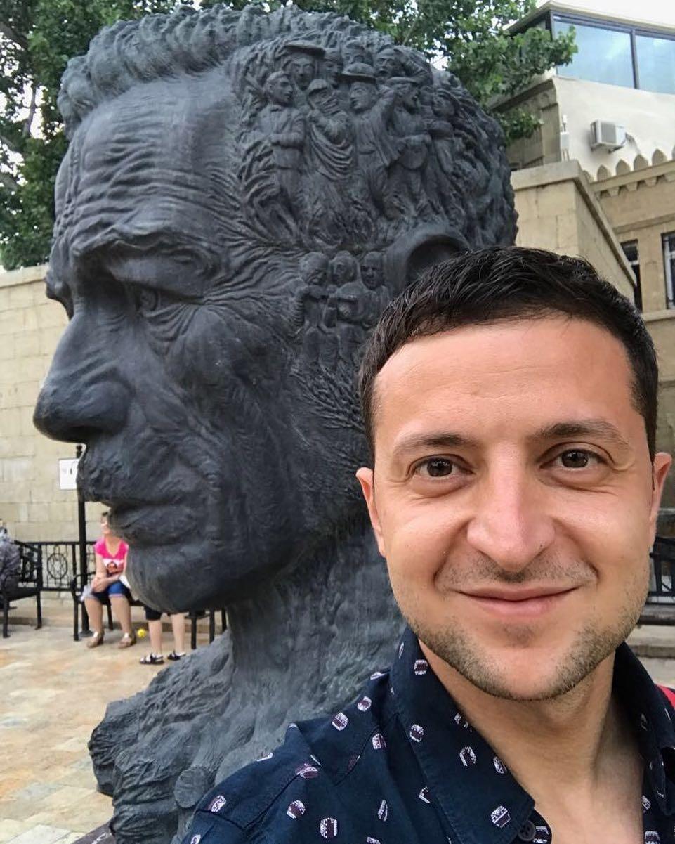 Азербайджанские приключения Владимира Зеленского