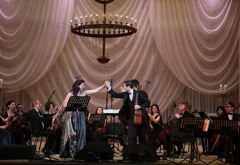 """В Баку прошел грандиозный концерт """"Барокко и Мугам: Вода и Огонь"""""""