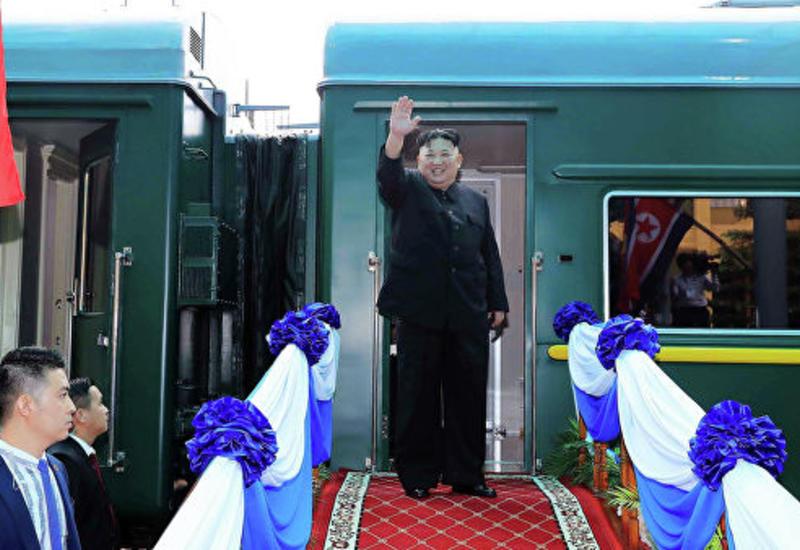 Ким Чен Ын на бронепоезде прибыл в Россию