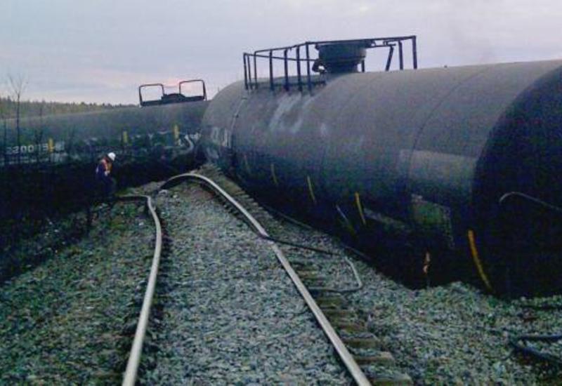 В Канаде сошел с рельсов поезд, перевозивший опасные вещества