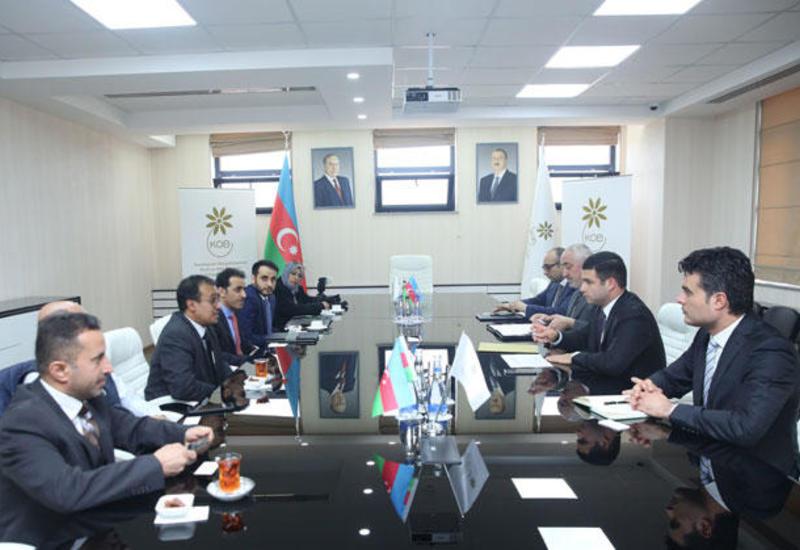 В Агентстве по развитию МСБ состоялась встреча с представителями государственного и частного секторов Саудовской Аравии