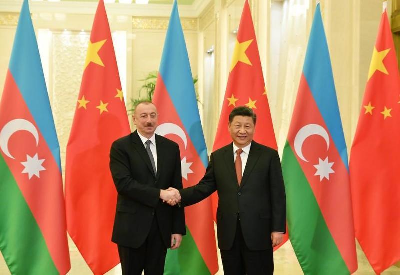 Си Цзиньпин: Под руководством Президента Ильхама Алиева Азербайджан проводит успешную внутреннюю и внешнюю политику