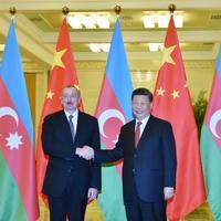 Президент Ильхам Алиев: Азербайджан активно продвигает проект «Один пояс, один путь» в рамках выдвигаемых инициатив