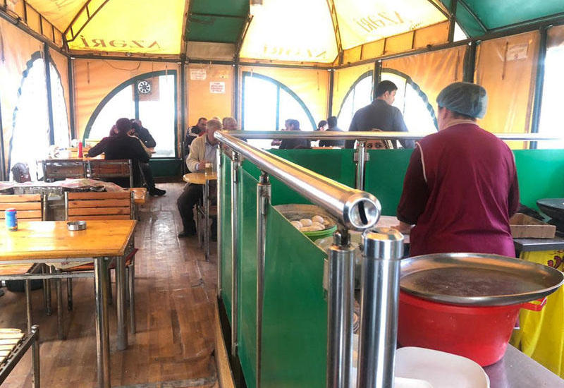 """""""Kafe Park"""" restoranında pozuntu aşkarlandı - FOTOLAR"""