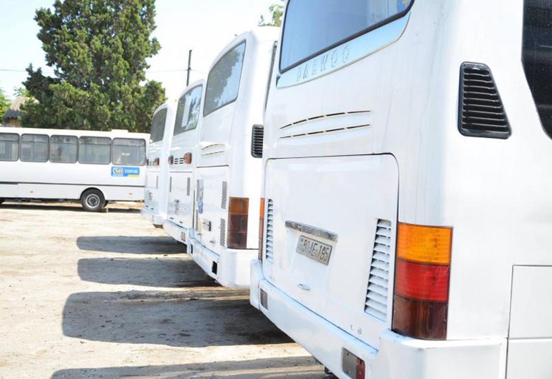 В Баку изменили маршрут 8 автобусов