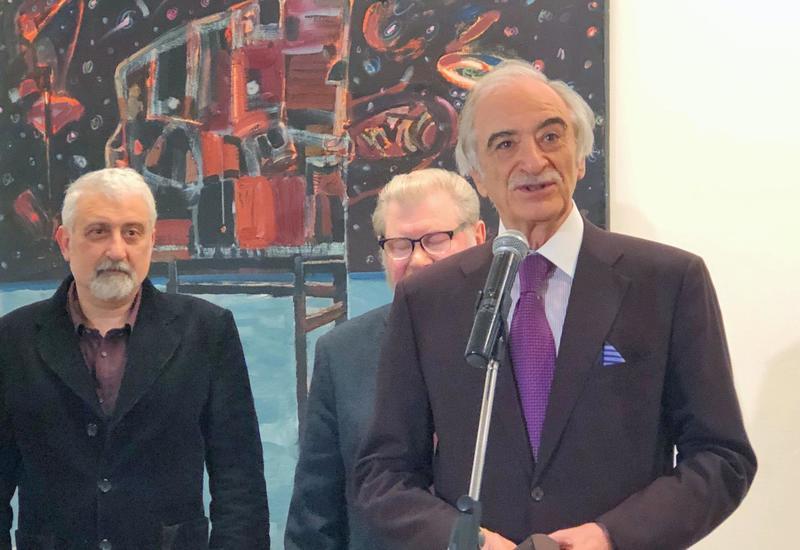 """В Москве открылась выставка азербайджанского художника <span class=""""color_red"""">- ФОТО</span>"""