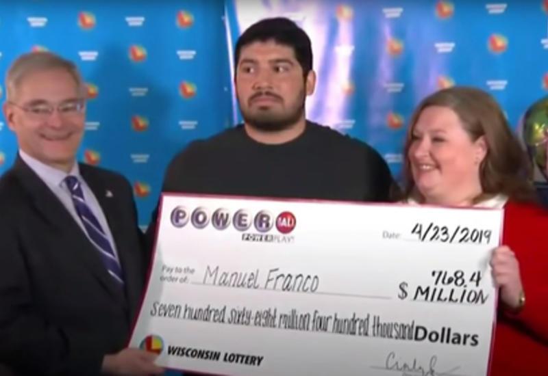 Американец выиграл сотни миллионов долларов и пообещал не делиться