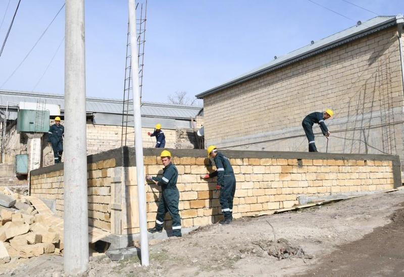 В Шамахе строят 110 домов для пострадавших от землетрясения