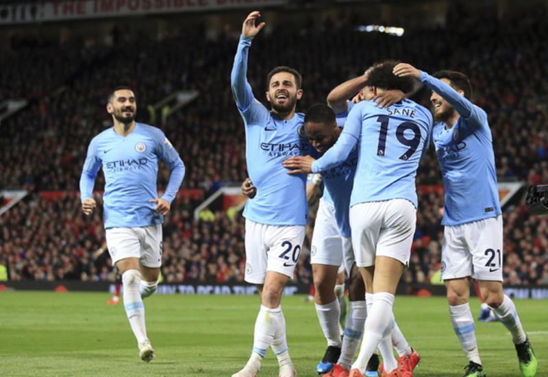 «Манчестер Сити» обыграл «Манчестер Юнайтед» в дерби