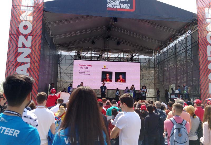 """В Баку прошли автограф-сессии гонщиков Формулы-1 <span class=""""color_red"""">- ФОТО</span>"""