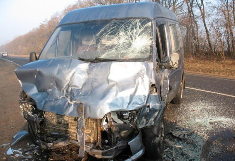 Страшное ДТП в Азербайджане, 10 пострадавших
