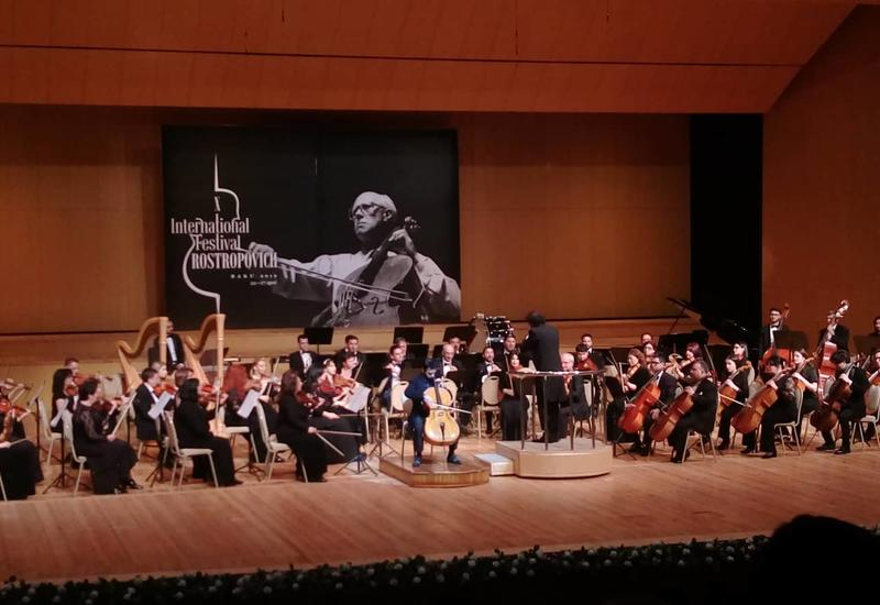 Во Дворце Гейдара Алиева состоялся концерт симфонического оркестра