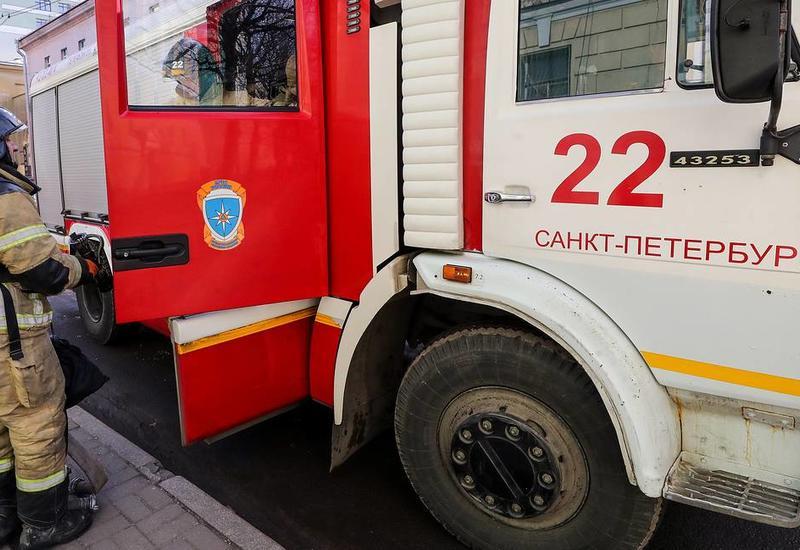 Взрыв в центре Санкт-Петербурга, есть пострадавший