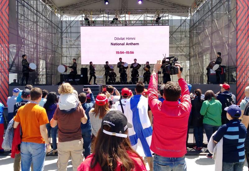 Национальные танцы восхитили всех на Формуле-1 в Баку