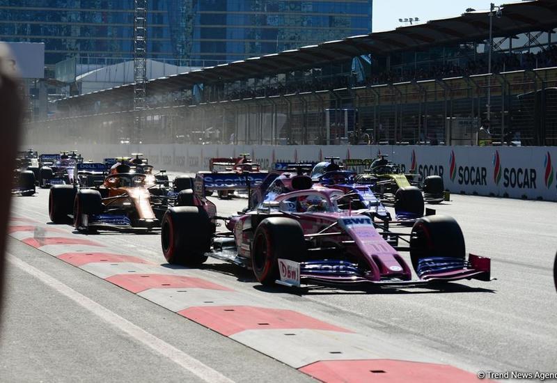 Грандиозная церемония открытия Гран-при Формулы-1 Азербайджан в Баку