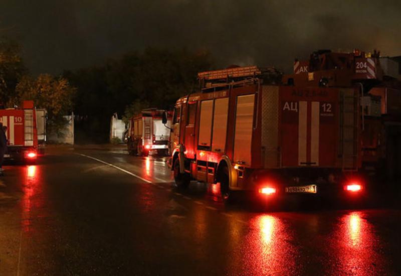 Крупный пожар площадью 20 тысяч м² в России