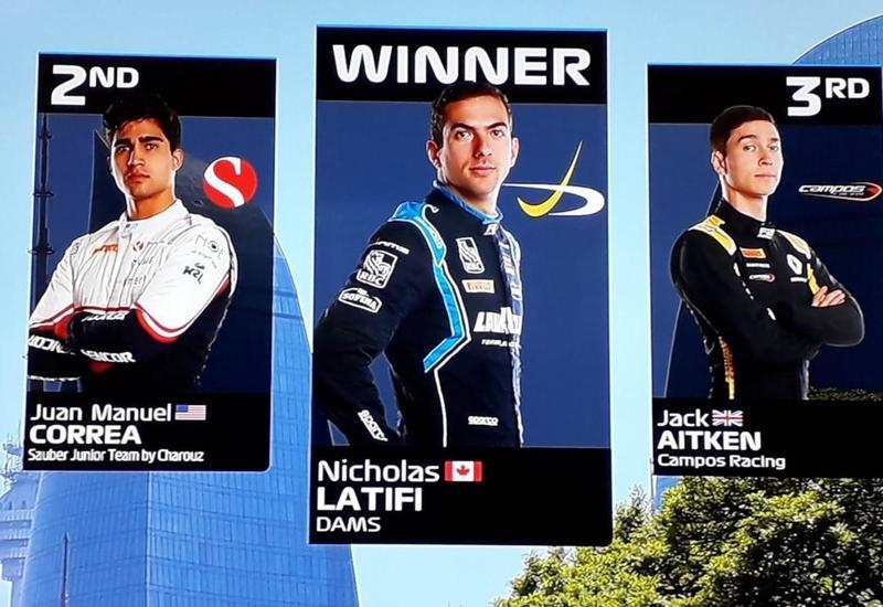 Определились победители соревнований FIA Formula-2 в Баку