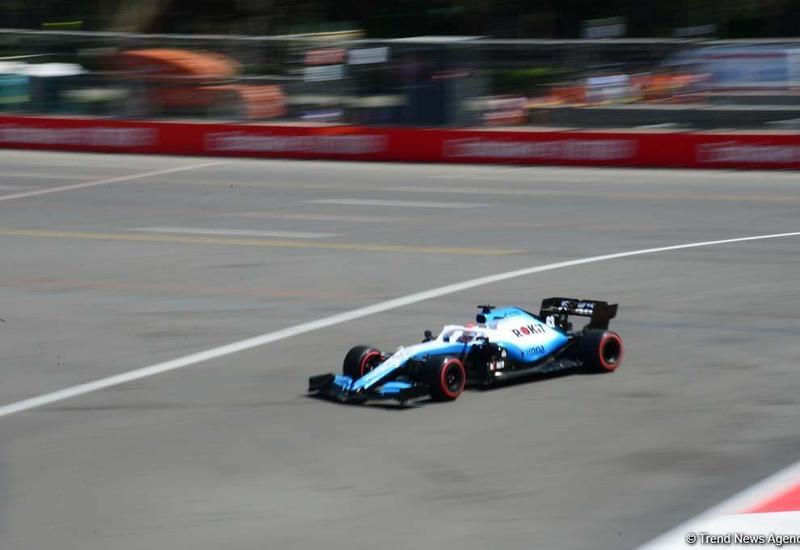 В рамках Гран-при Формулы-1 Азербайджан стартовала вторая гонка F2
