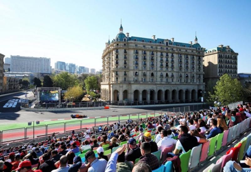 Сколько зрителей посетили Формулу-1 в Баку?
