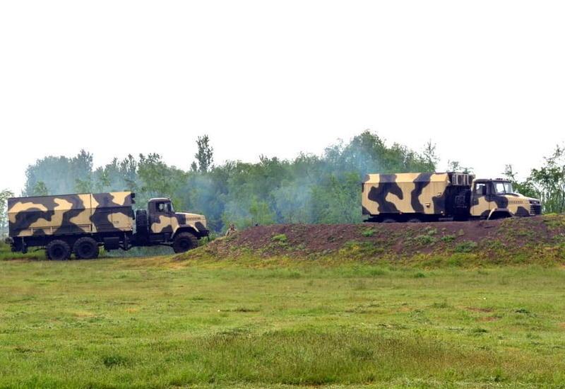 Специальные учения ПВО Азербайджана