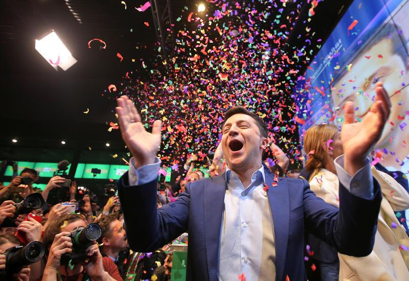 Владимира Зеленского объявили президентом Украины