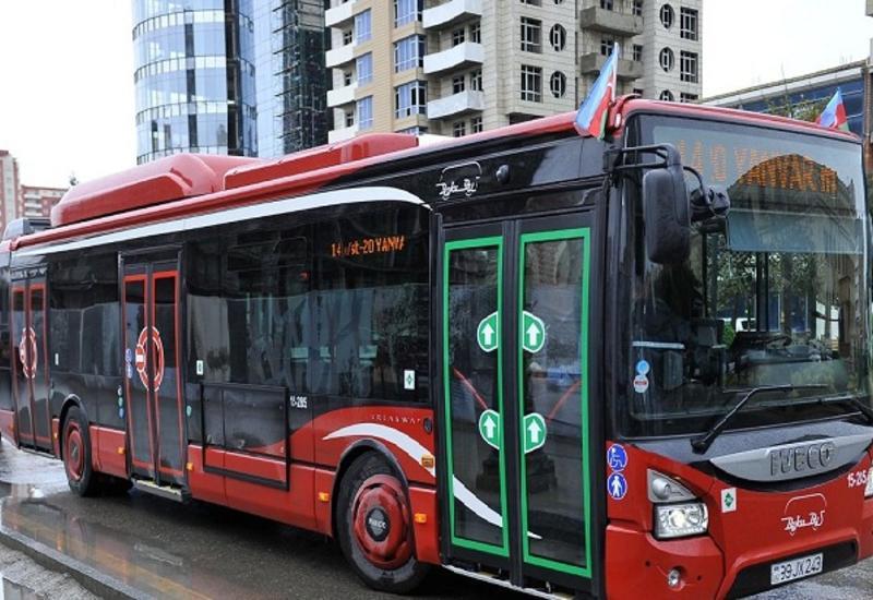 В ряде городов Азербайджана запрещено движение общественного транспорта и автомобилей