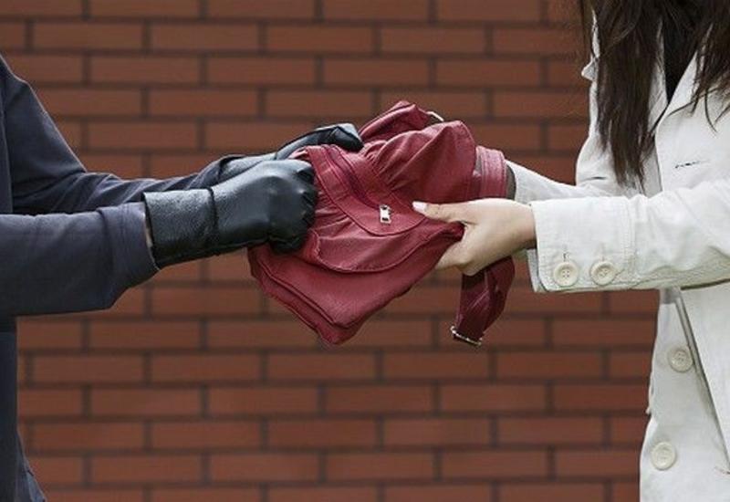 В Баку ограбленная женщина догнала вора и заставила вернуть сумку