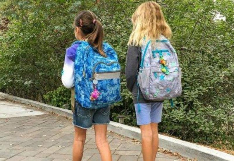 В Азербайджане предложили избавить школьников от тяжелых портфелей