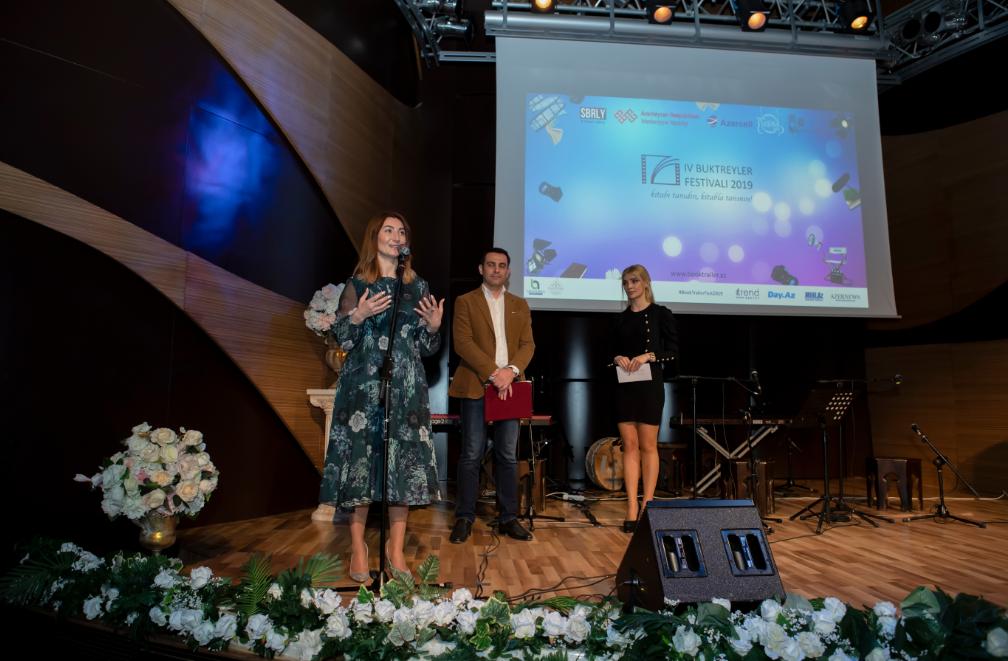 Состоялся гала-вечер IV Фестиваля Буктрейлеров, главным партнёром которого является компания Azercell