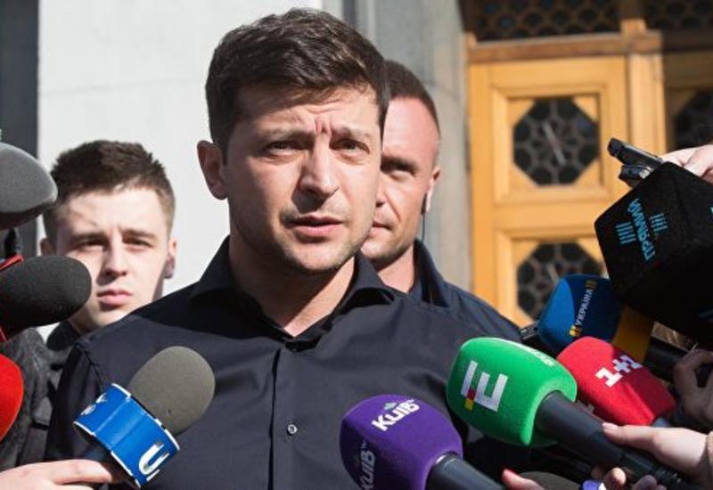 Владимир Зеленский выразил соболезнования в связи с катастрофой в Шереметьево