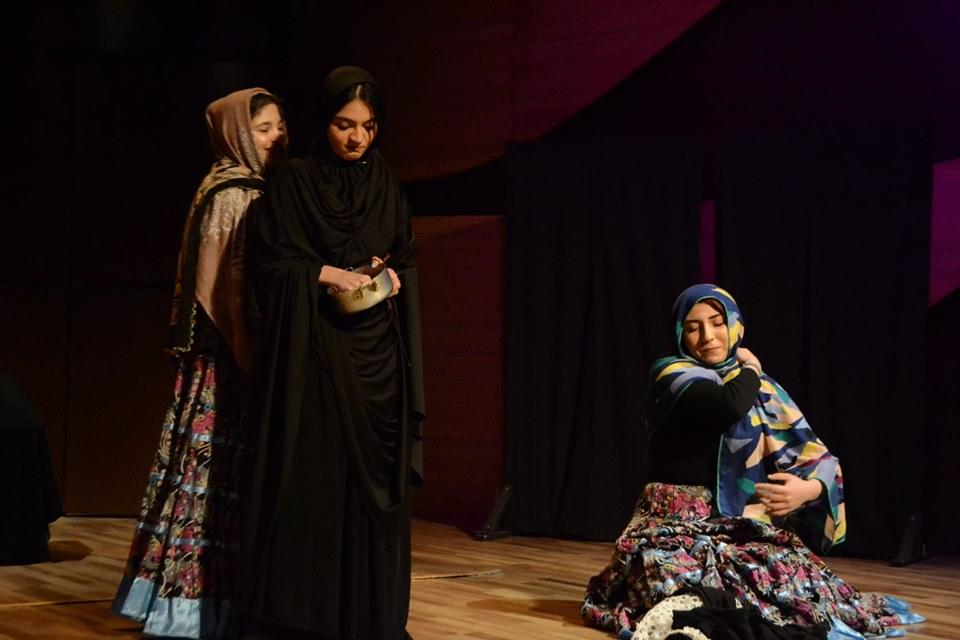 В Центре мугама прошел спектакль по произведениям Джалила Мамедкулизаде