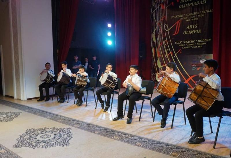 В Баку прошла третья Олимпиада искусств