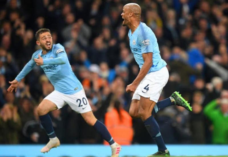 Сумасшедший гол Компани вернул «Манчестер Сити» на первое место в АПЛ