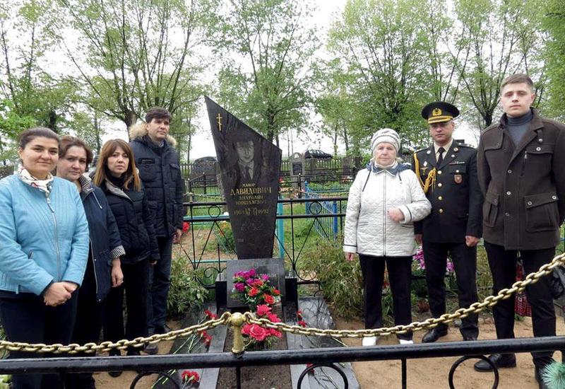 В Беларуси почтили память Национального героя Азербайджана