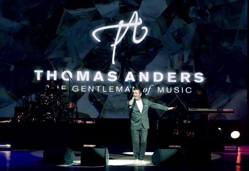 Легендарный Томас Андерс выступил с незабываемым концертом в Центре Гейдара Алиева